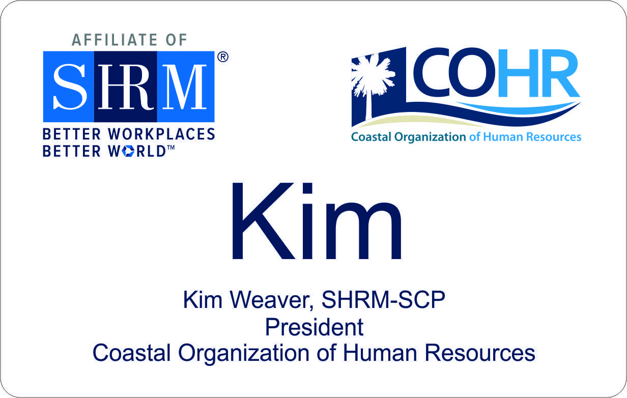 COHR Chapter SHRM badges