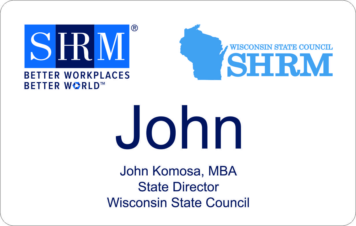 SHRM Wisconsin State Council badge