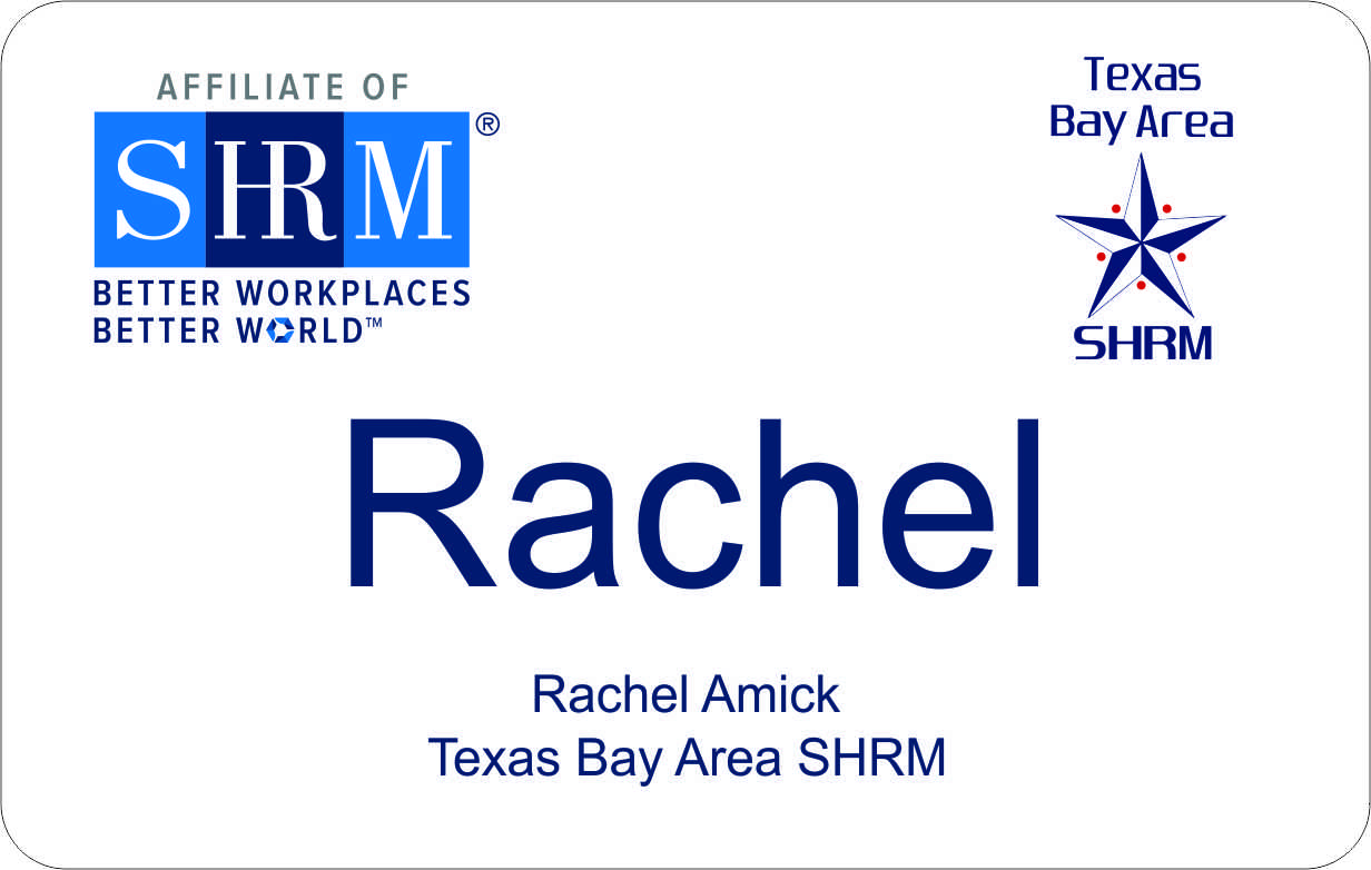 Texas Bay Area Chapter SHRM badge